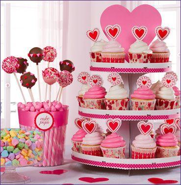 Valentines Day Dessert Buffet Idea ~ Party City   Love Sucks but ...