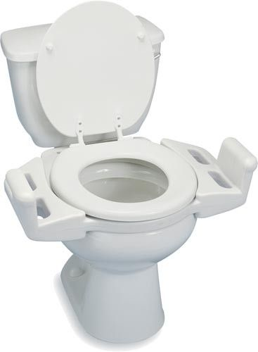 Reversible Toilet Transfer Seat Toilet Seat