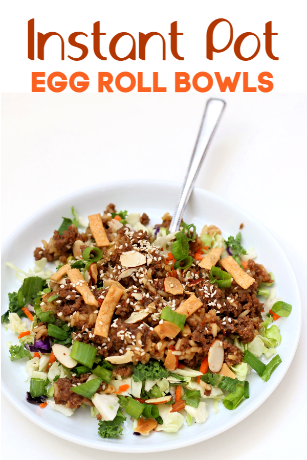 Instant Pot Egg Roll Bowls Recipe Eggroll In A Bowl Instant Pot Food Recipes