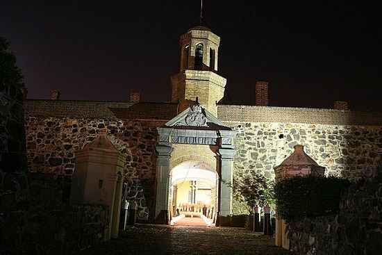 Image result for Castle of Good Hope in South Africa scary