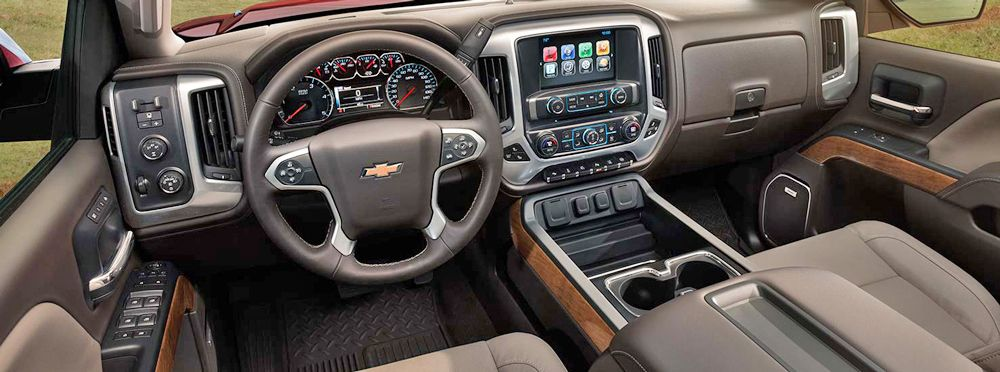 2015 chevy truck interior  Google Search  Trucks  Pinterest