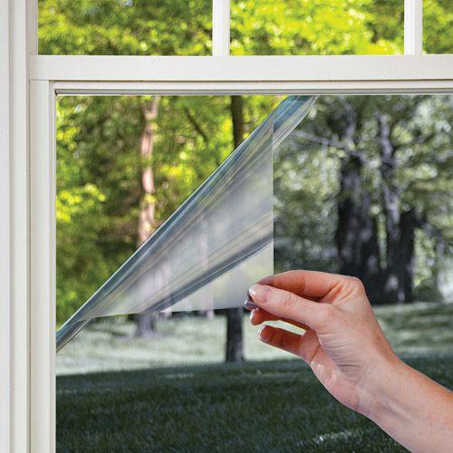 Home Mirrors Film Residential Windows Mirror Window Film