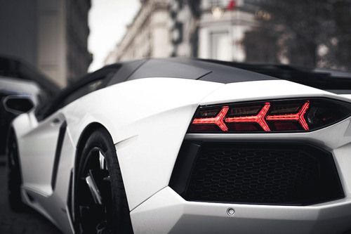 An41 Lamborghini Car Exotic White Art: Random Inspiration 89
