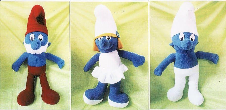 Free Smurf Pattern | Stuffed toys patterns, Crochet ...