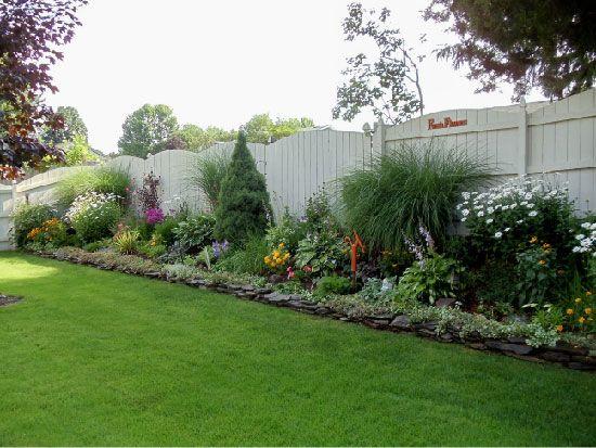 backyard fences ideas  pinterest fences