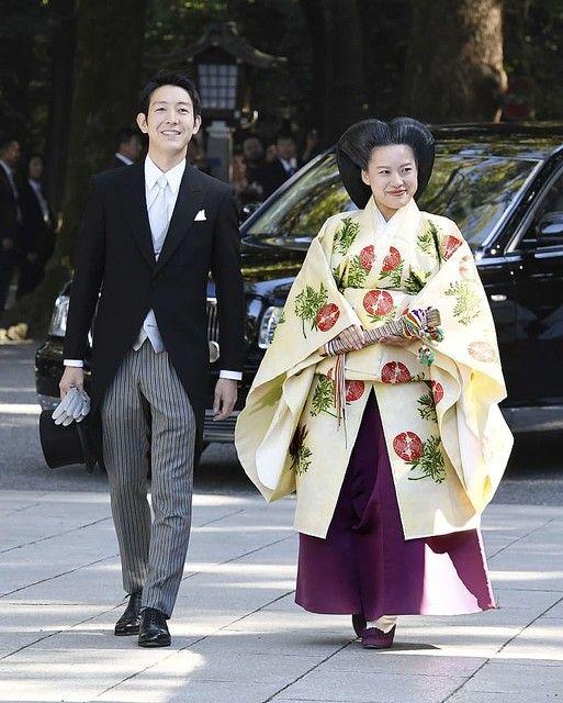 明治神宮で高円宮家の三女絢子さまの結婚式 皇室離れ民間人に ...