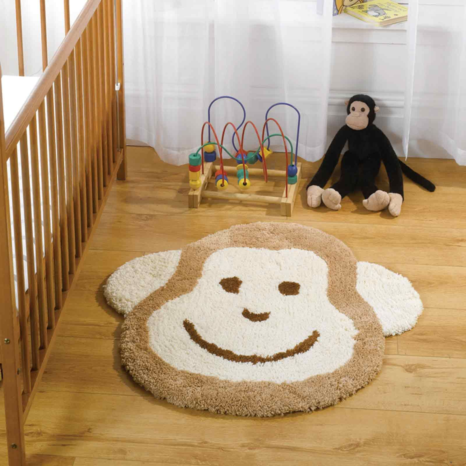 Nursery Cheeky Monkey Rugs In Natural Andy S Pinterest