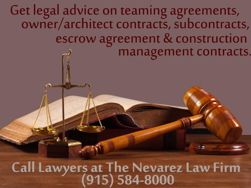 Construction Contracts Law  The Nevarez Law Firm  Construction