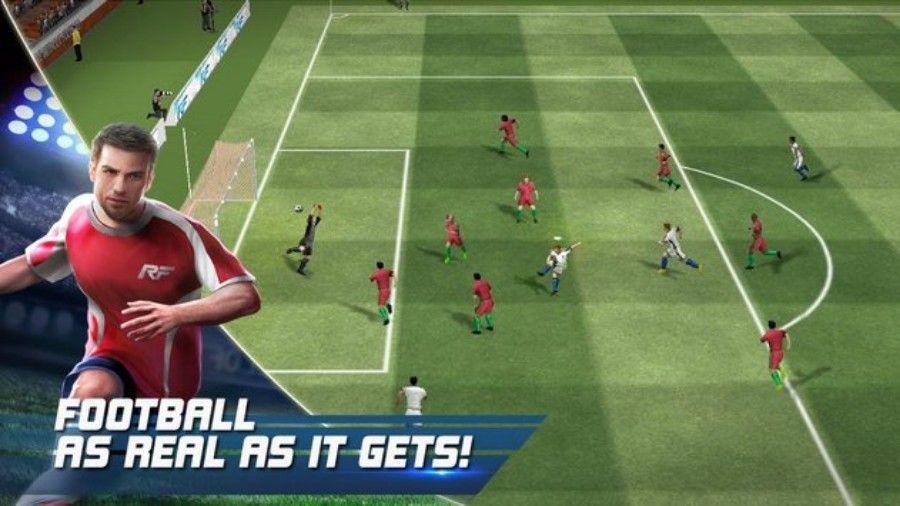 تحميل لعبة كرة القدم Real Football المجانية على الهواتف