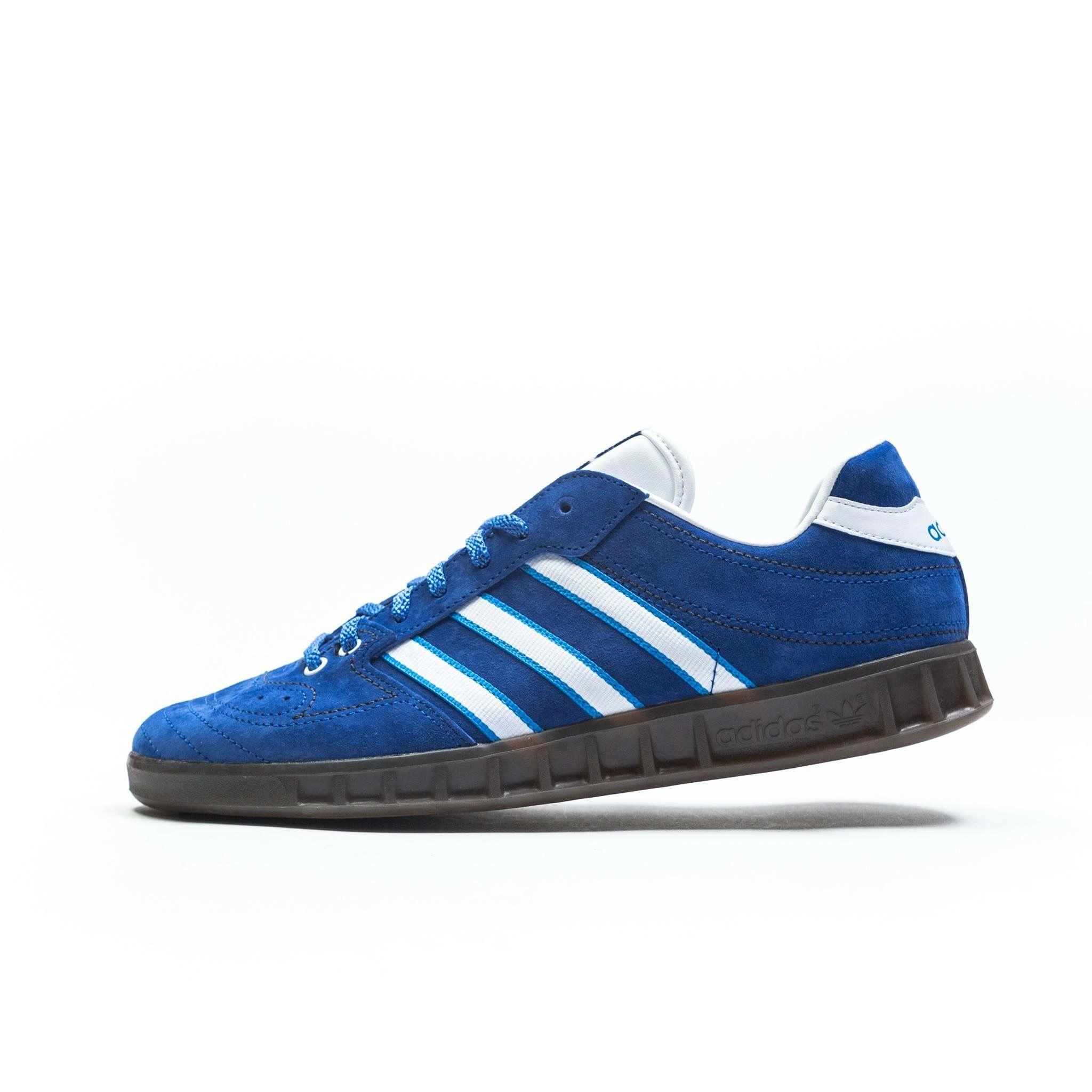 Handball Kreft Spezial Leather-trimmed Suede Sneakers - Royal blueadidas Originals eI9Nr3