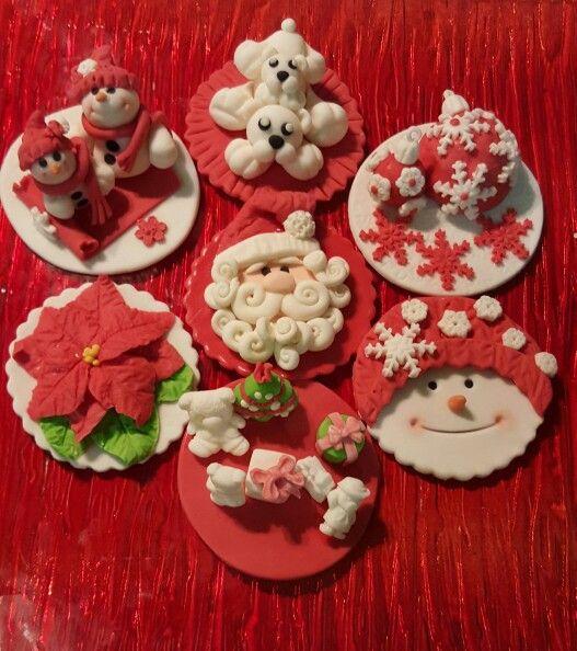 #toppers navidad#Noel. Amothercakes.