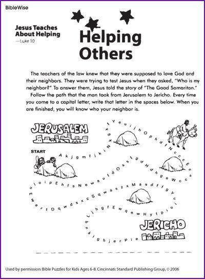 Image result for good samaritan bible story for young kids for Good samaritan crafts for sunday school
