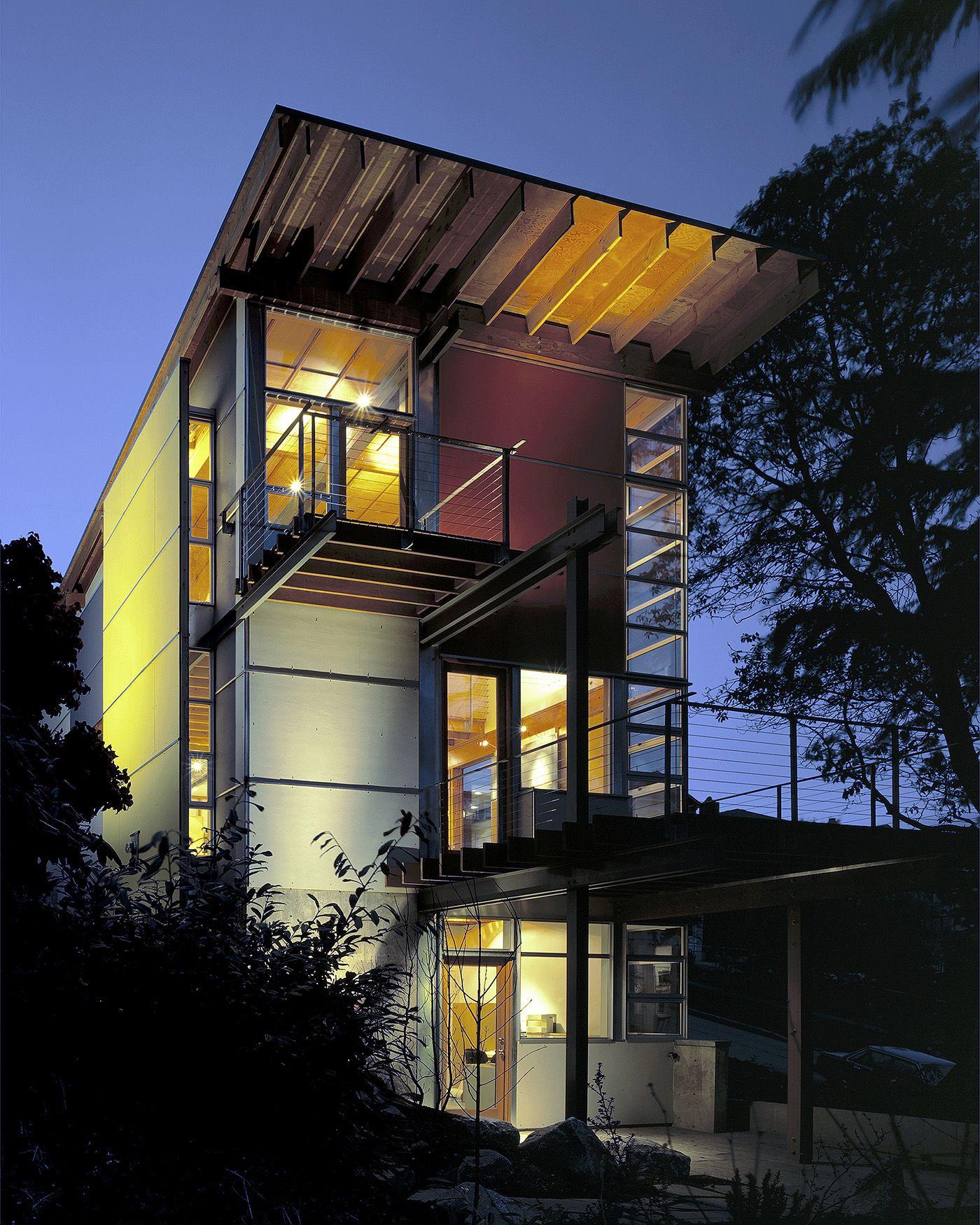 Gosline residence in seattle by bcj job ideas utopian for Modern house jobs