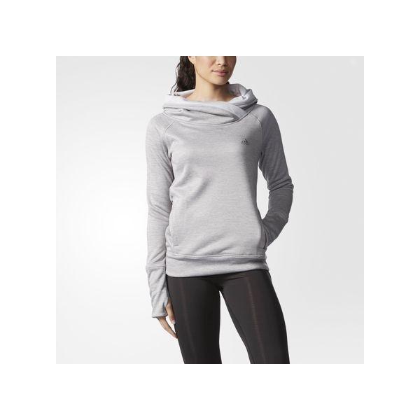 adidas Team Issue Mock Turtleneck Pullover Light Heather ($60 ...