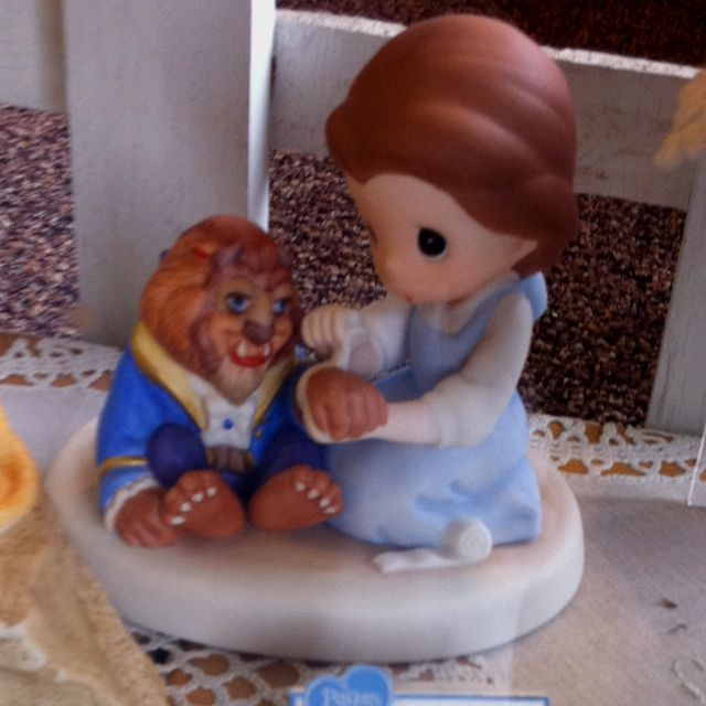 Beauty And The Beast Precious Moments - Seen In A Gift Shop In Leavenworth, WA.