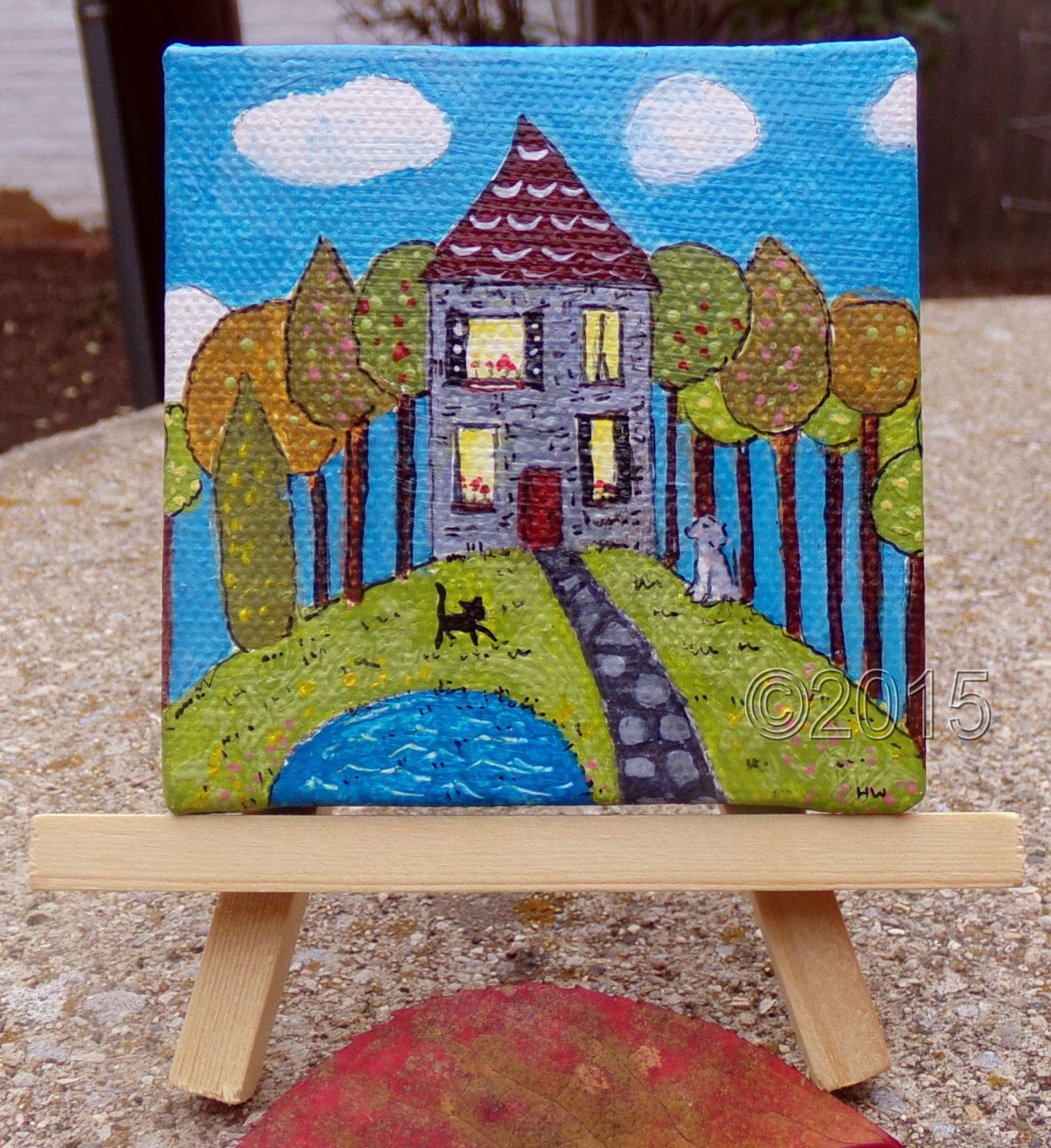 American folk art home decor