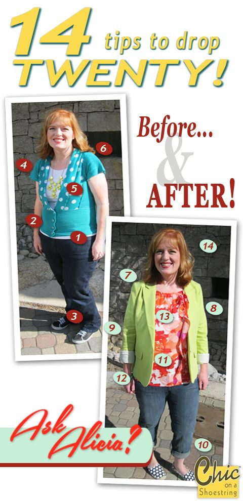 93205b053 Take Off 20 Pounds By Choosing The Right Clothes! · Jillee