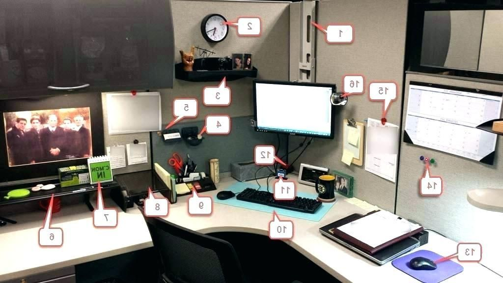Decorating Your Office Design Cubicle How