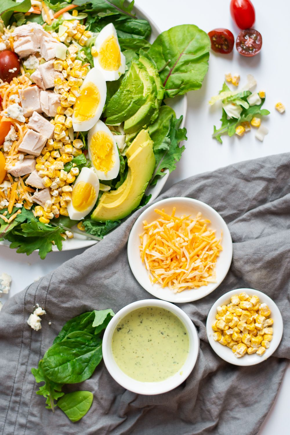 5 Minute Rotisserie Chicken Cobb Salad Recipe Group Board