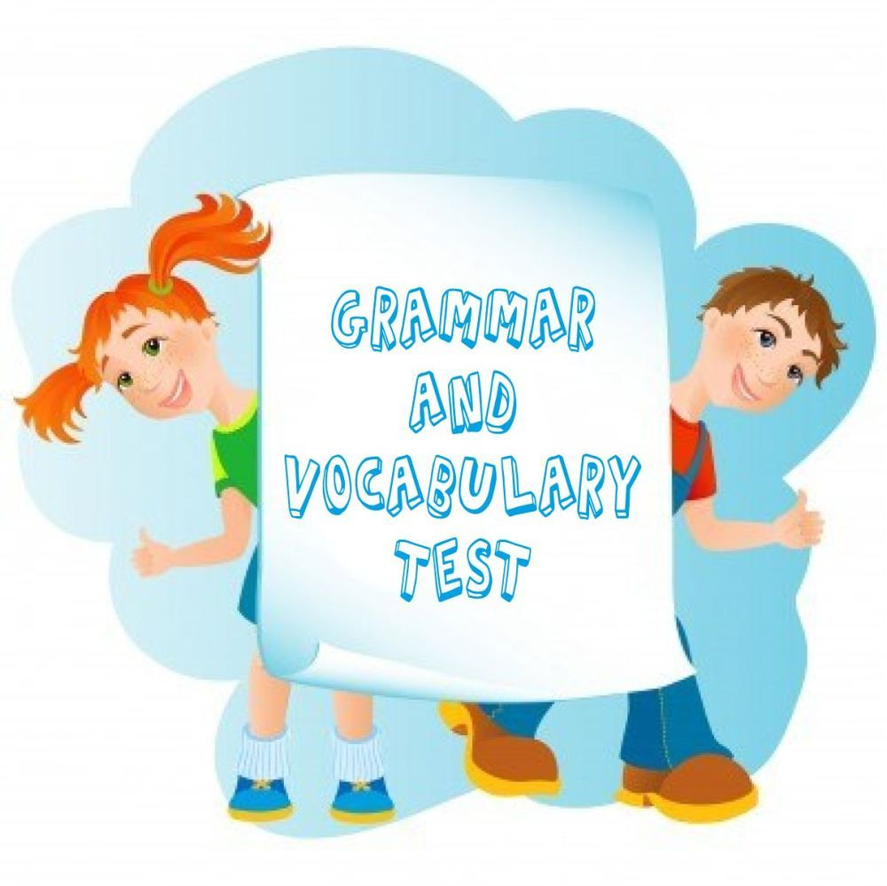 TEST YOUR SKILLS # 2 (GRADE 3) | ESL Online Tests For Kids | Pinterest