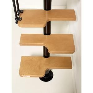 Best Arke Nice2 22 In Black Modular Staircase Kit K50104 Diy 640 x 480