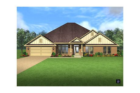 4175 By Breland Homes At Dairy At Oak Grove House Styles House Plans House