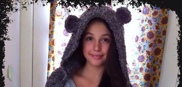 Crochet Snow Bear Scoodie - Dearest Debi Patterns | crochet | Pinterest