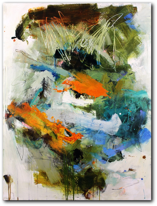 Abstract paintings, Conn Ryder, Abstract Expressionism