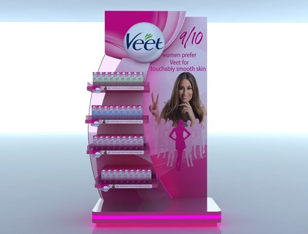 Veet Display on Behance