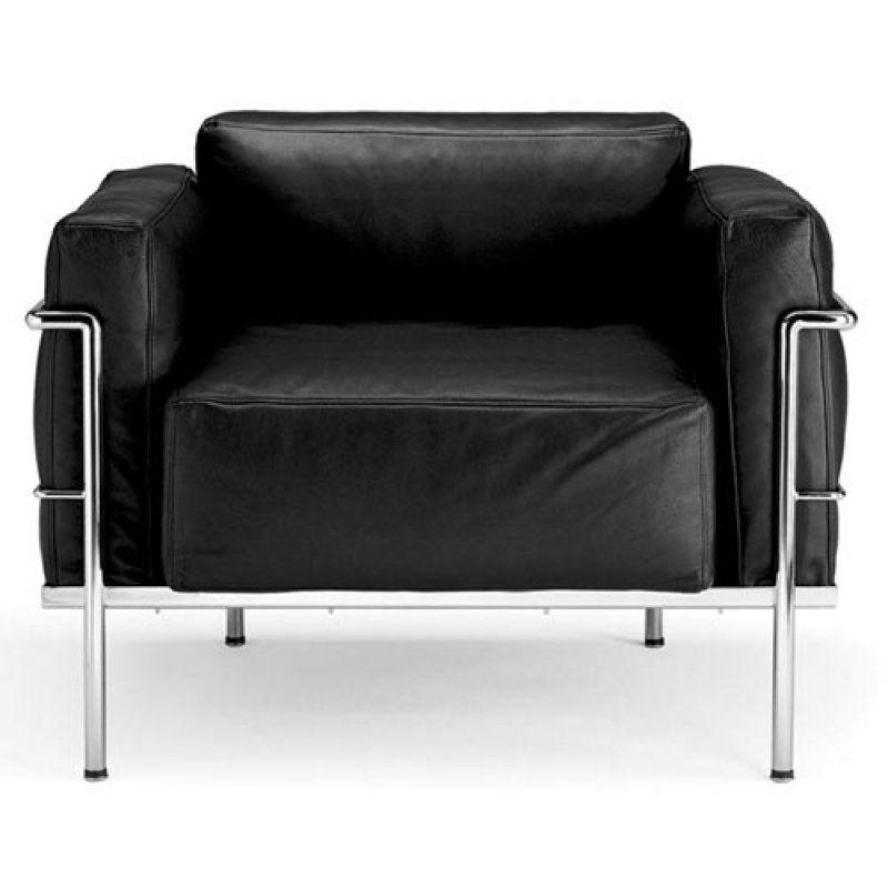 Bauhaus italy le corbusier lc3 armchair the wide for Bauhaus italia