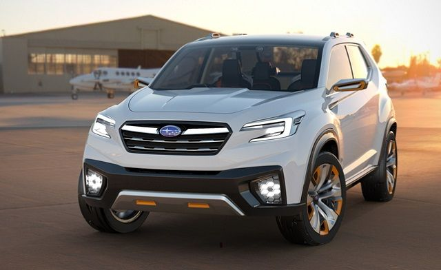 The Subaru Seven Seater Suv Is Exclusively Designed According