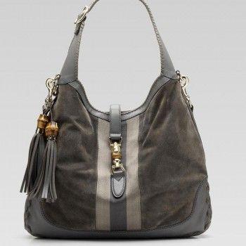 1a96120ad5d3 Gucci 218491 Ch0vg 1267 New Jackie'Large Umh?ngetasche Gucci Damen  Handtaschen