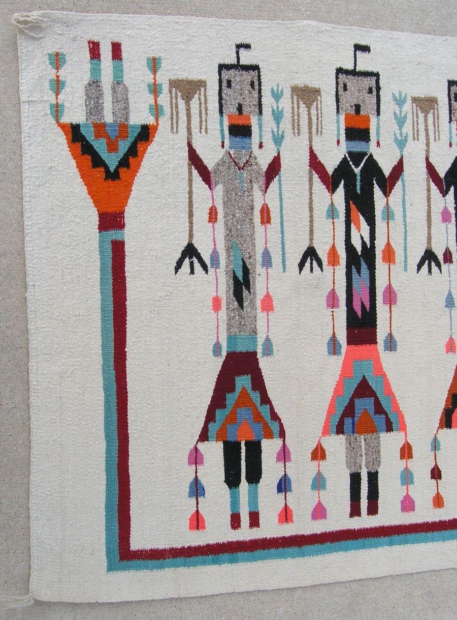 Fine Antique Native American Navajo Yei