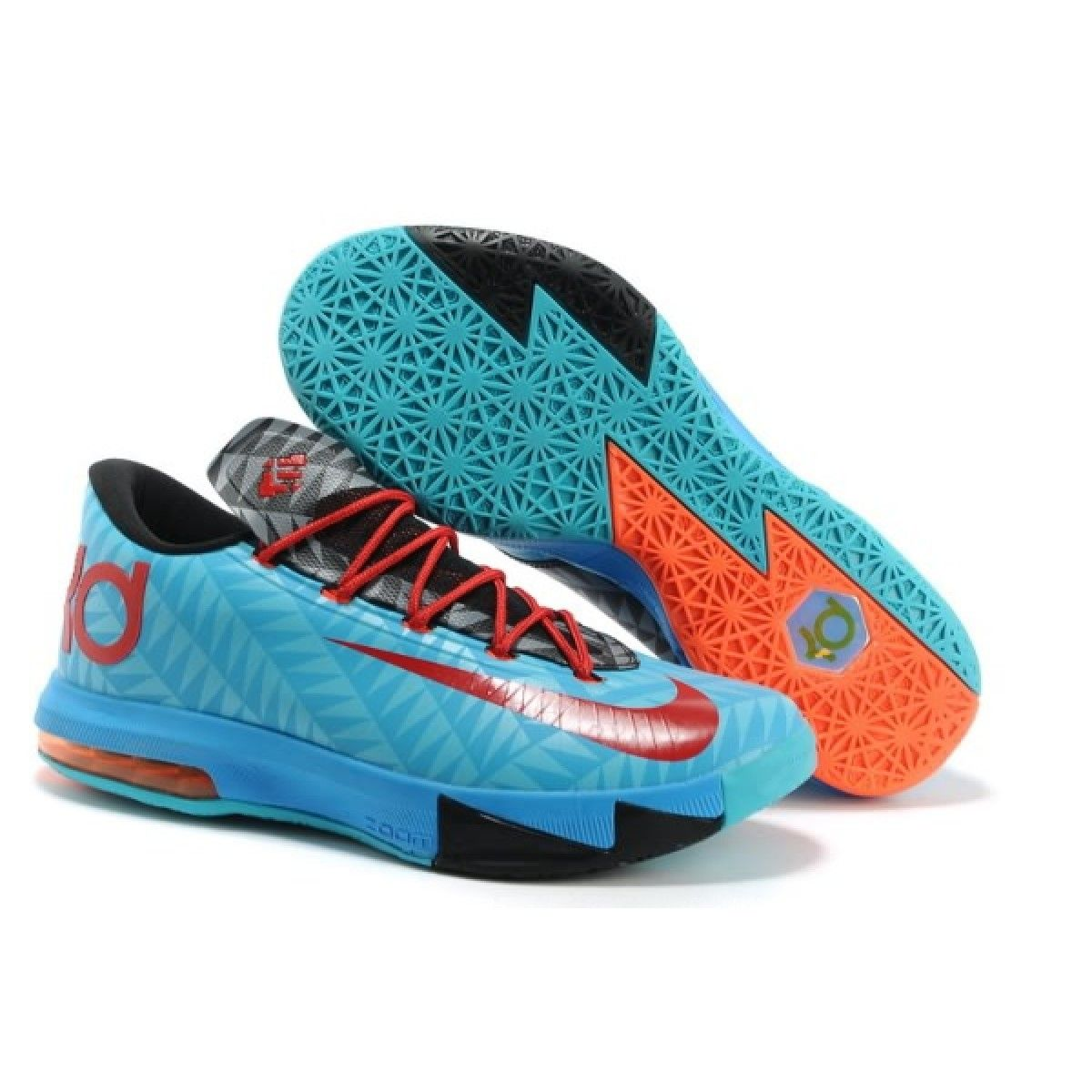 discover the nike kevin durant kd 6 vi dark turquoise university red black for sale super deals 3123