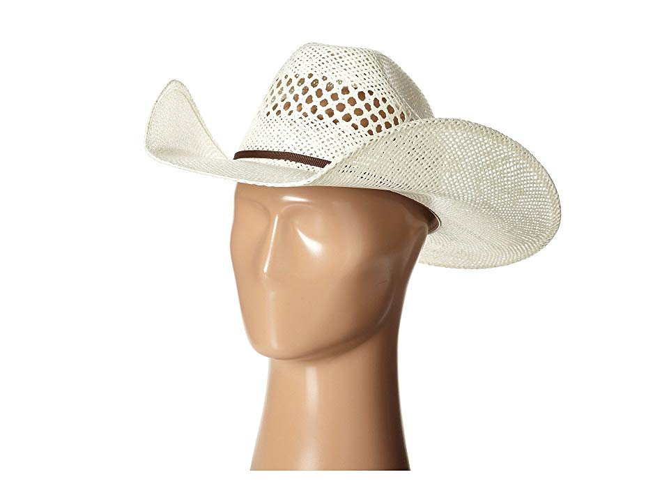 MF Western T71620 Twisted Weave Cowboy Hats This Western straw hat from MF Western will see you through the heat and wind of every day on the range or at the rodeo Part o...