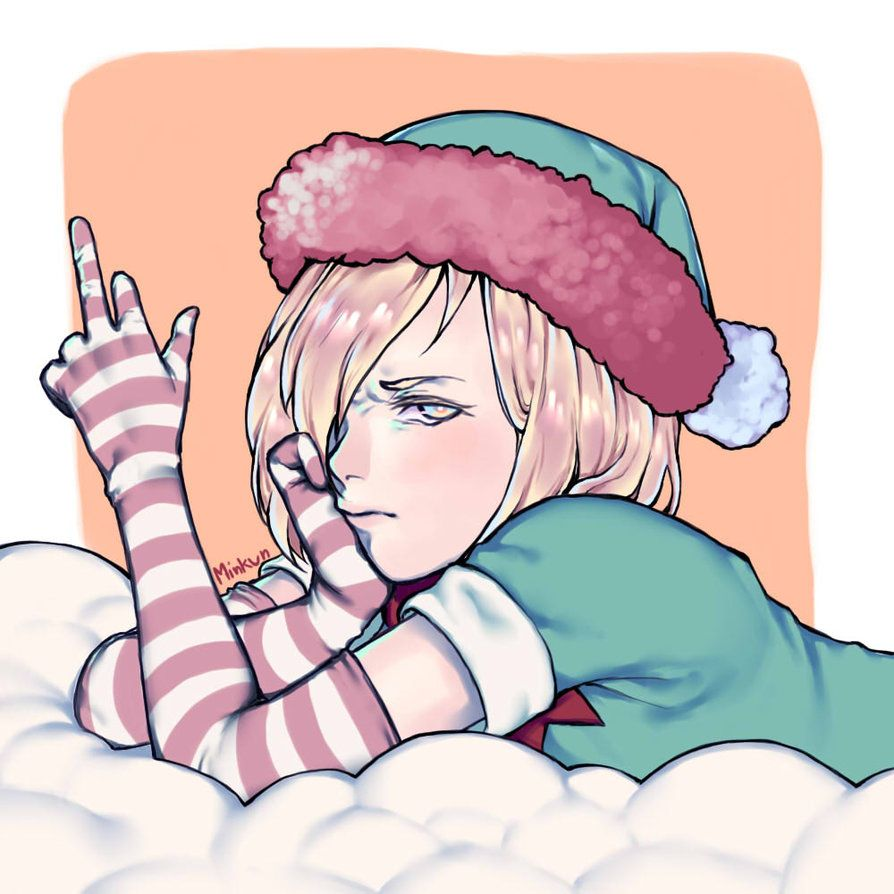 Christmas Yuri Plisetsky by n3v3rm1ndbitch on DeviantArt