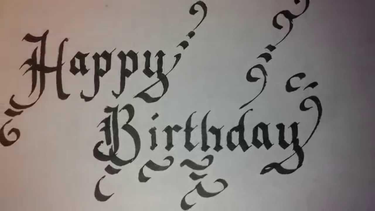 меня открытки с днем рождения в готическом стиле зажигания понадобится