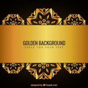 Fondo dorado art