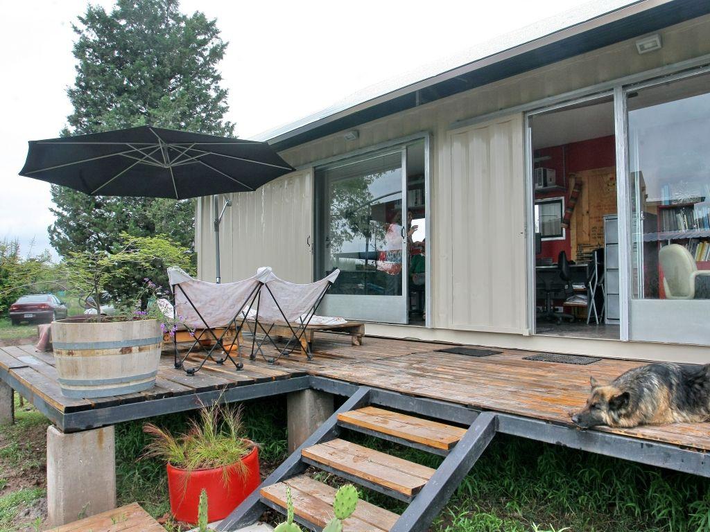 Las mendocinas que hacen casas con contenedores ideas - Contenedores casas prefabricadas ...