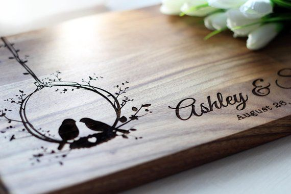 Cutting Board Personalized Gift For Women Gift For Wife Wedding