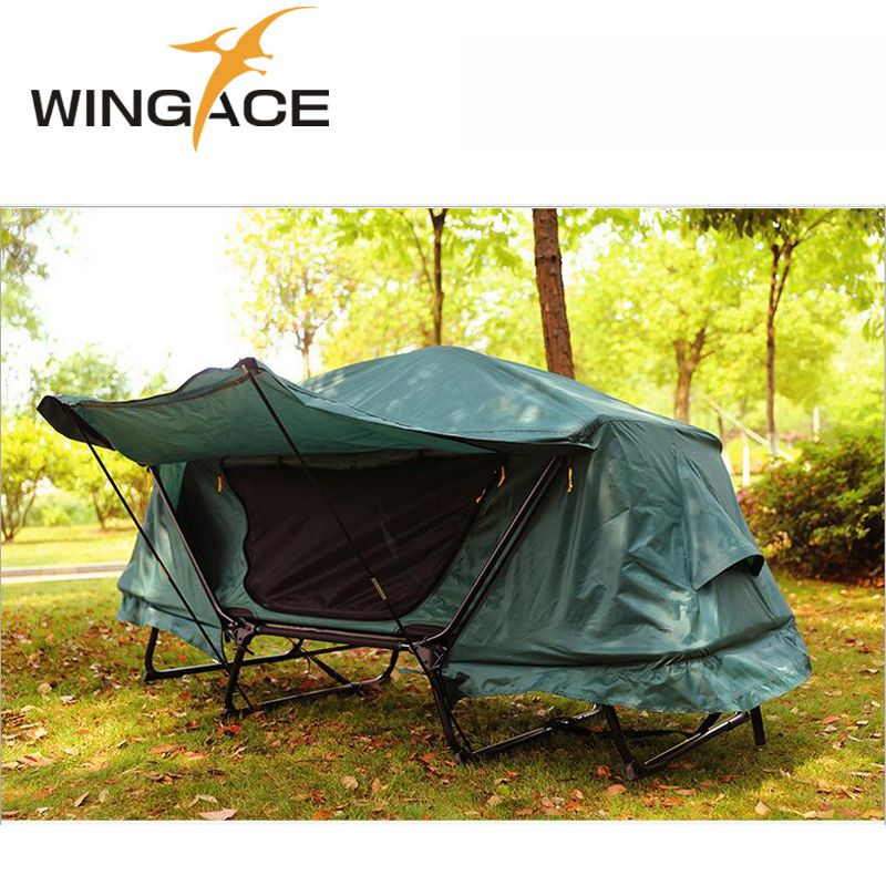 camping journal Waterproof Folding tent bed Automatic camping tent 1