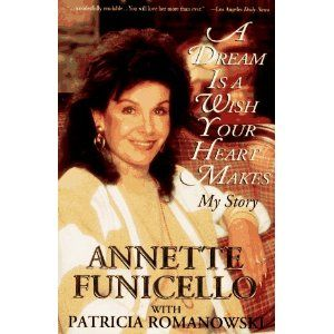 A Dream Is A Wish Your Heart Makes By Annette Funicello 1994