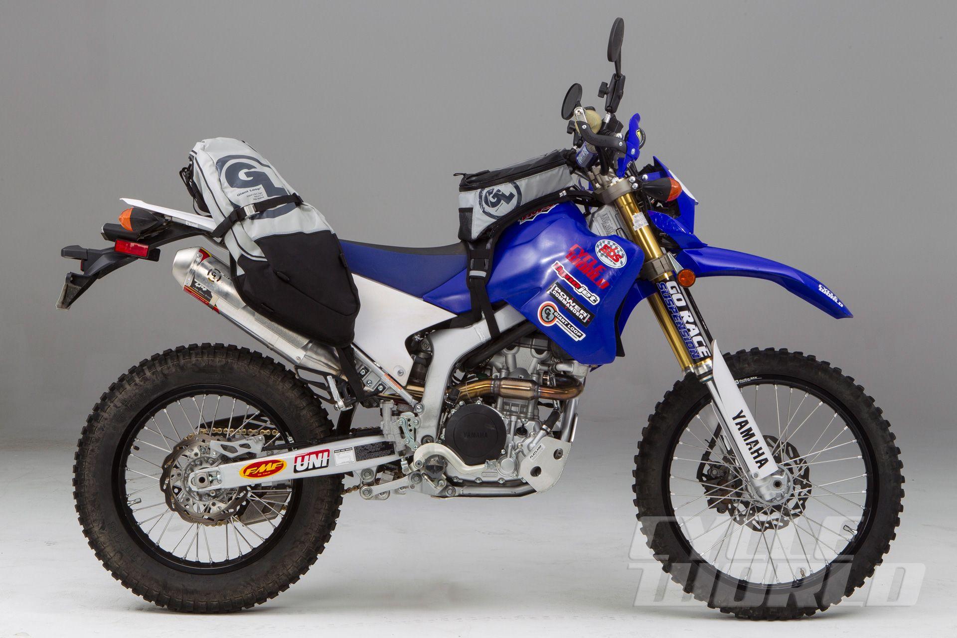 adventure lite  yamaha wr250r project adv bike