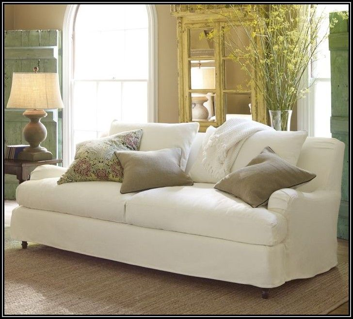 Slipcover Furniture Living Room: English Roll Arm Sofa Slipcover