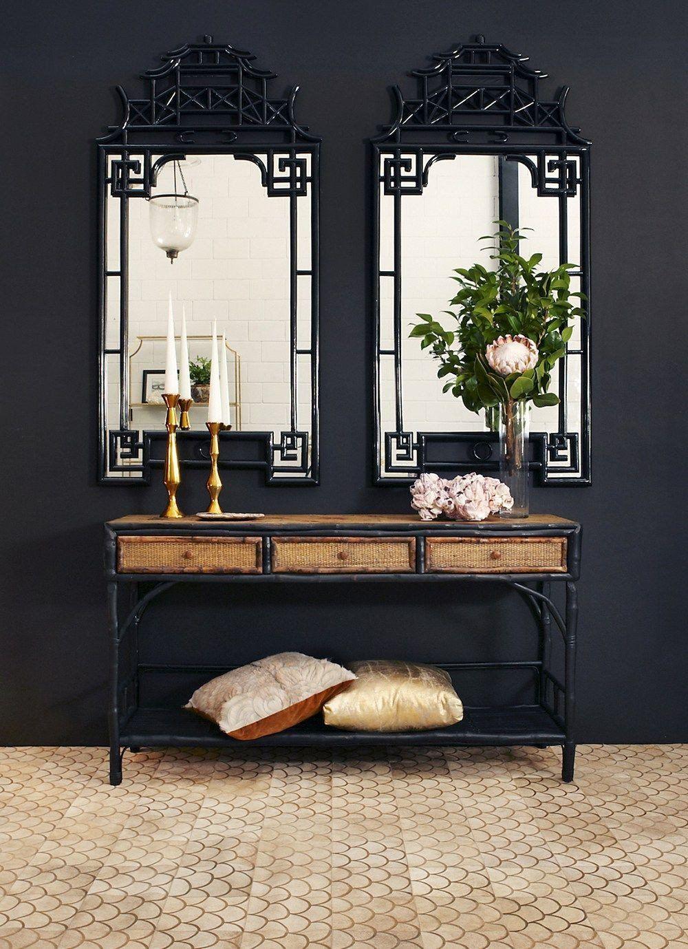 Asian Decoration Ideas Inspirational March Moodboard Black Rattan
