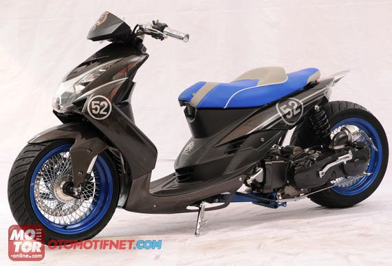 Modified Yamaha Mio Yamaha Scooter Motorcycle Bike Mini Bike