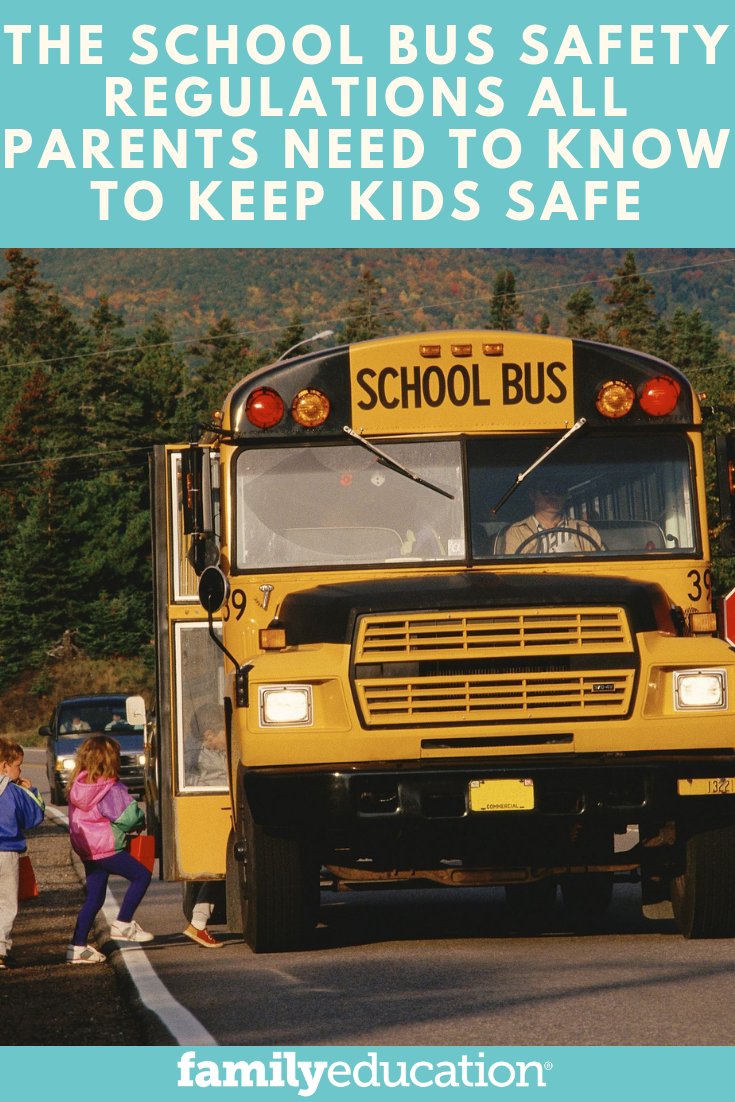 School Bus Safety Rules School bus safety, Bus safety, Bus