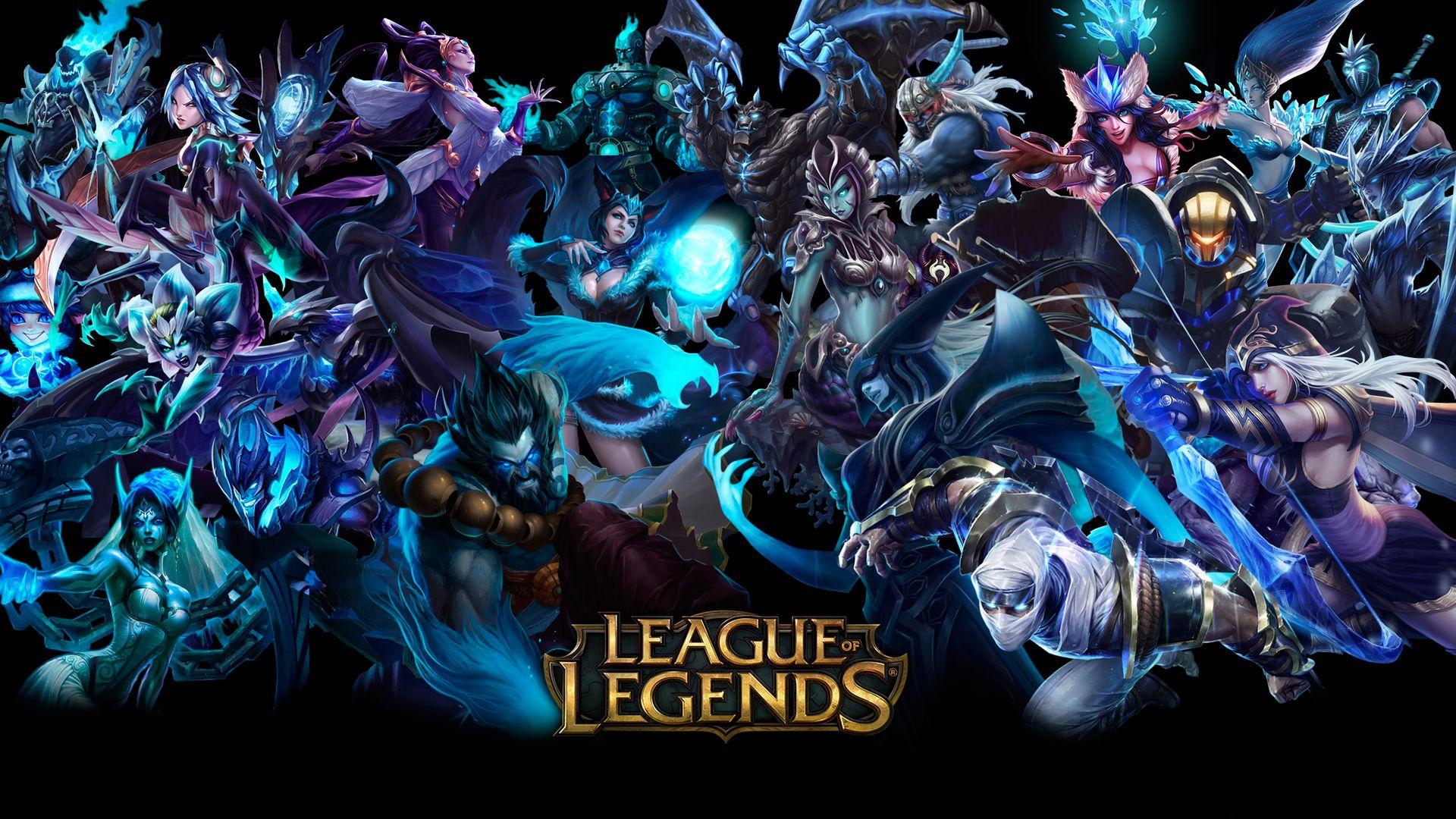 League Of Legends Champion Wallpaper League of legends 4k