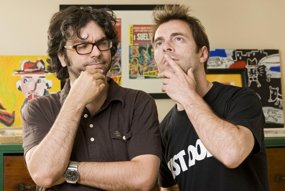 Liniers y Kevin Johansen.