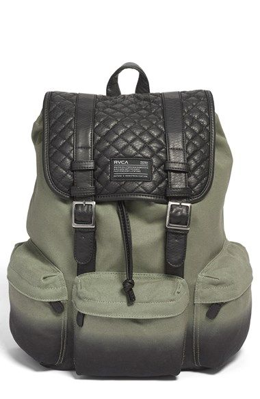 matches my custom pendelton rosche runs <3 RVCA+'Lovoni'+Backpack+available+at+#Nordstrom